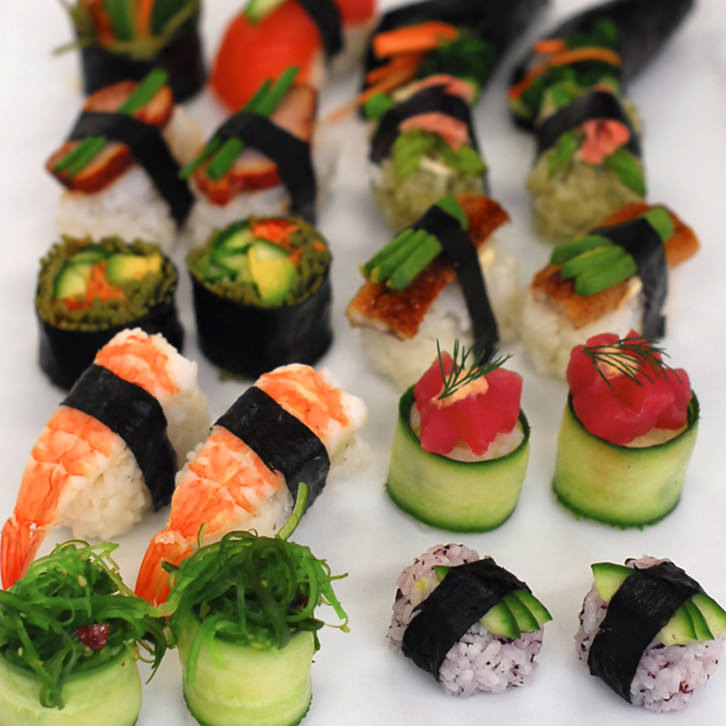 Deluxe Sushi Selection | Finger Food by Devour It Catering Melbourne
