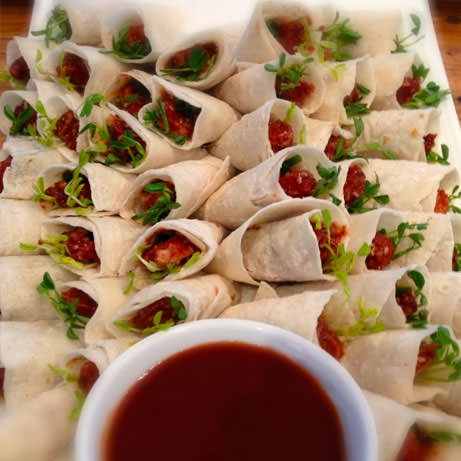 peking duck crepes catered fresh daily devour it catering