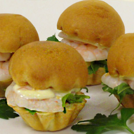 Mini Prawn Brioche - Finger Food Melbourne by Devour It Catering Melbourne