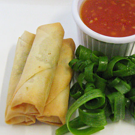 Vegetarian Spring Rolls by Devour It Catering Melbourne