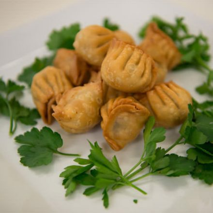 Vegetable Wontons by Devour It Catering Melbourne