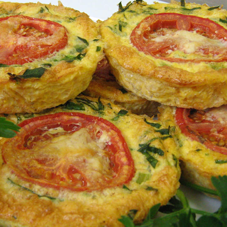 Spinach and Cheese Rice Pie for people with food allergies by Devour It Catering Melbourne