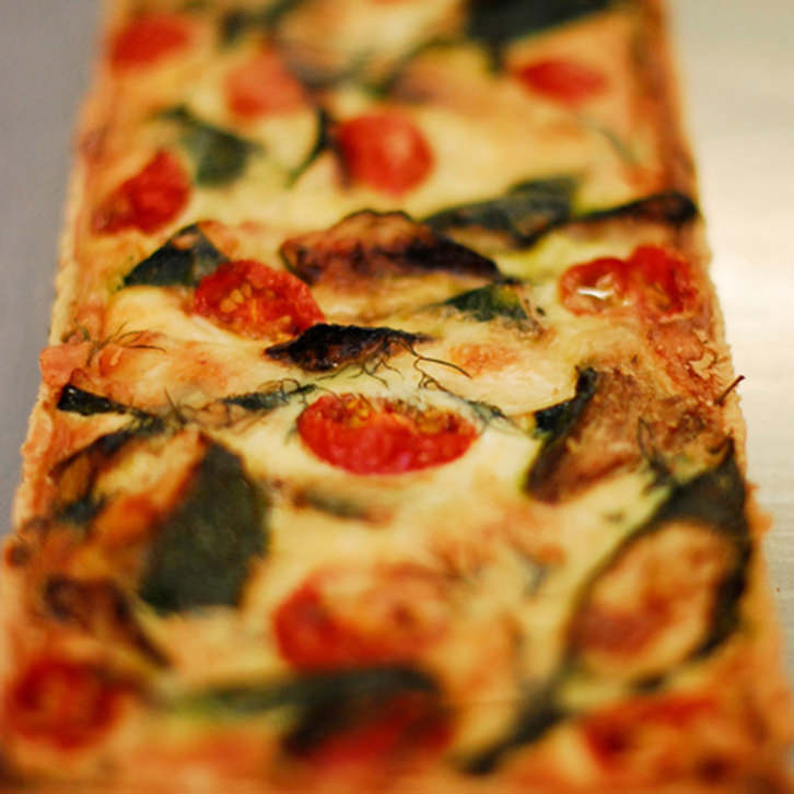 Large Quiche by Devour It Catering Melbourne