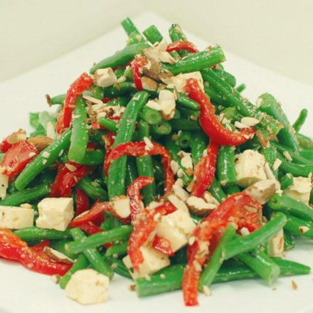 Green Bean salad by Devour It Catering Melbourne