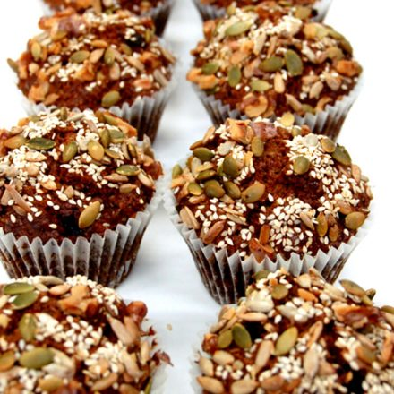 Carrot and Apple Muffins in breakfast catering menu by Devour It Catering Melbourne