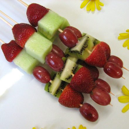 Fruit Skewers - Breakfast Catering | Devour It Catering Melbourne