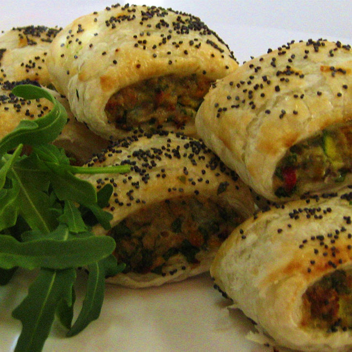 Chicken Sausage Rolls - Finger Food by Devour It Catering Melbourne