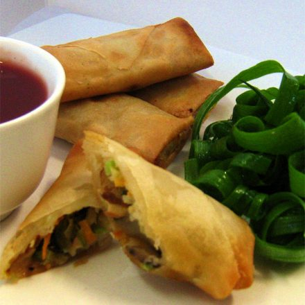 Peking Duck Spring Rolls - Finger Food by Devour It Catering Company Melbourne