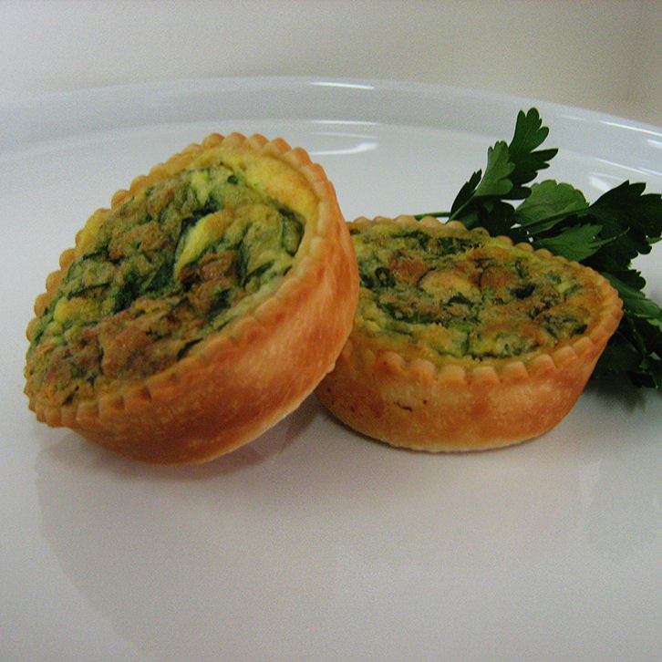 Devour It Catering Melbourne can deliver Goat's Cheese and Spinach Tarts
