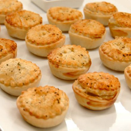 Devour It Catering delivers Gourmet Cocktail Pies in Melbourne to your event or corporate function!