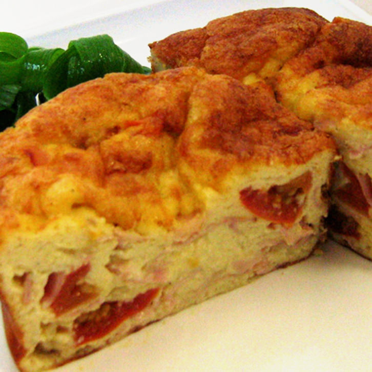Ham, Cheese and Tomato Frittatas by Devour It Catering Melbourne