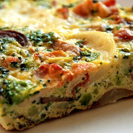 Frittata for people with Food Allergies by Devour It Catering Melbourne