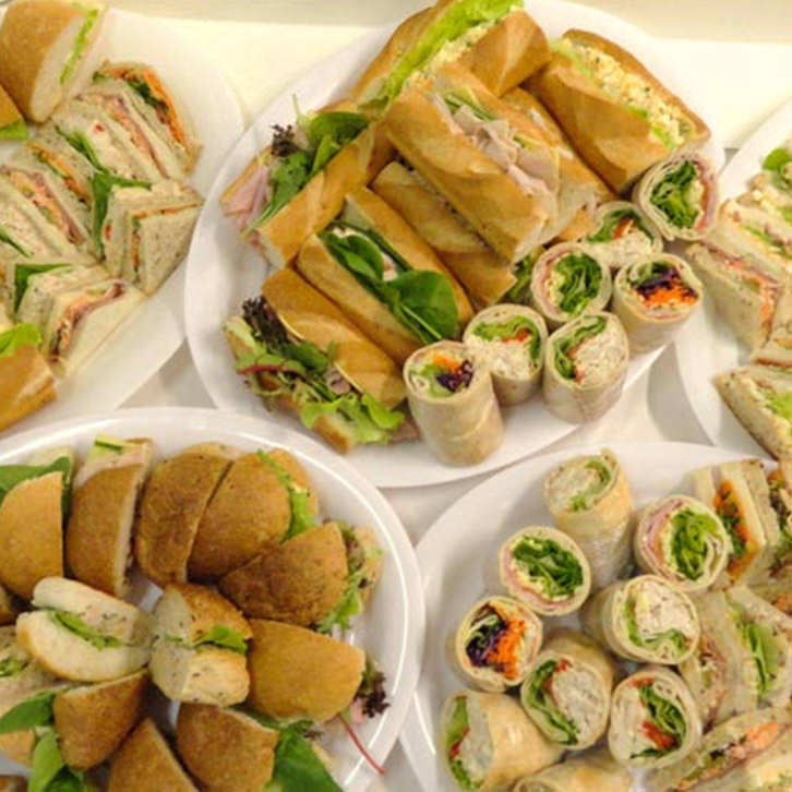 Mixed Sandwich and Roll Platter | Devour It Catering
