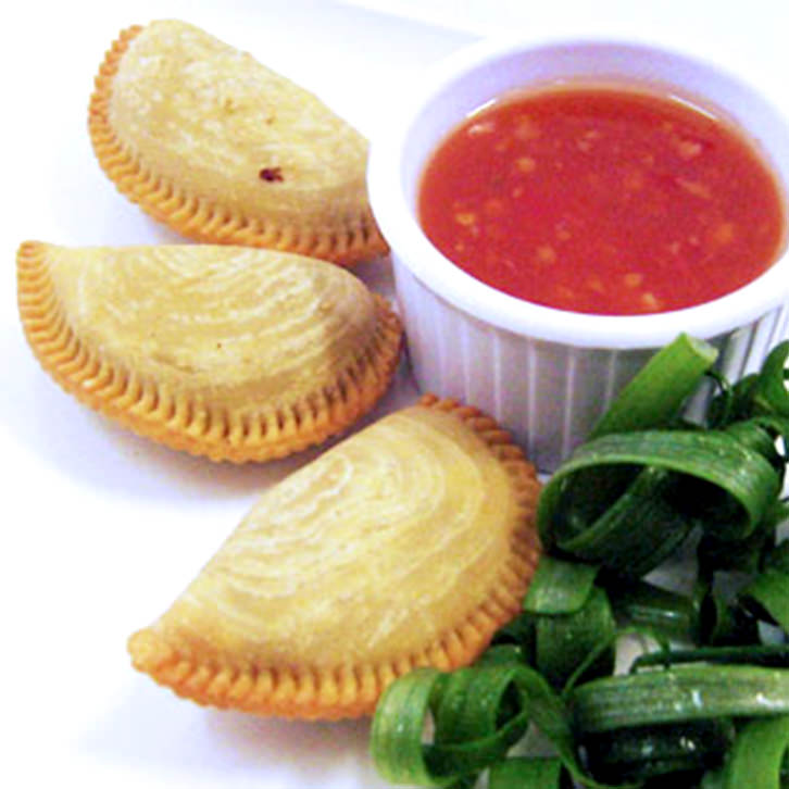 Vegetarian Curry Puffs by Devour It Catering Melbourne