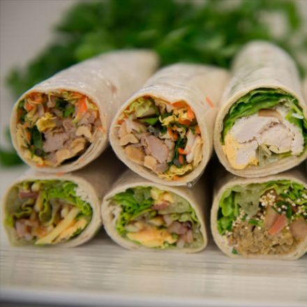 catering tortilla wraps