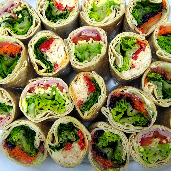 Pita wraps for catering in Melbourne