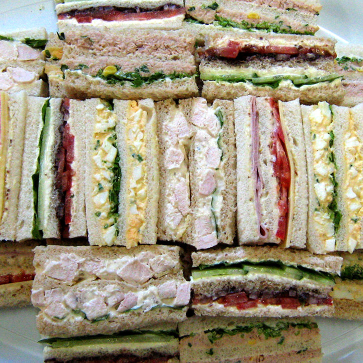 Ribbon Sandwiches are perfect for corporate catering Melbourne