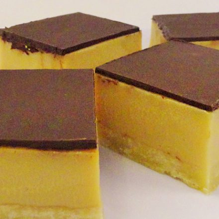 CARAMEL SLICE from devour it catering