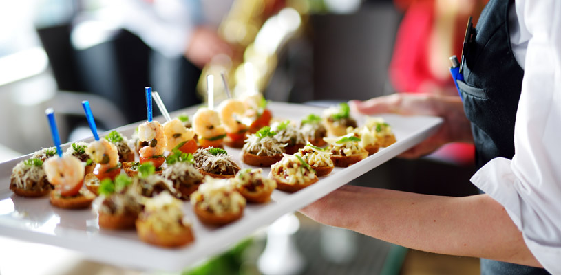 professional catering assistance
