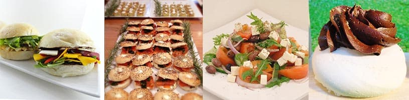 spring racing festival food provided by catering company melbourne