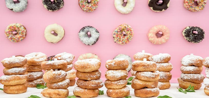 donuts in the new catering food trends