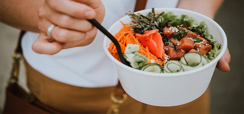 food trends in 2019 poke bowls
