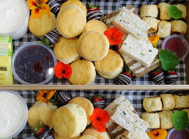 scones picnic